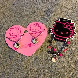 New Hello Kitty Bracelet & Best Friends Necklace